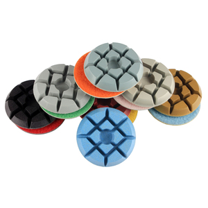"Hot Sale RAIZI 3"" diamond floor Polishing Pad for Concrete terrazzo granite"