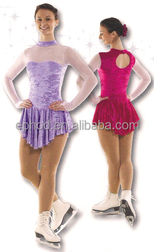 2016 new design dance wear/dance costumes/Ice Skate Dresses/training costumes eped-013