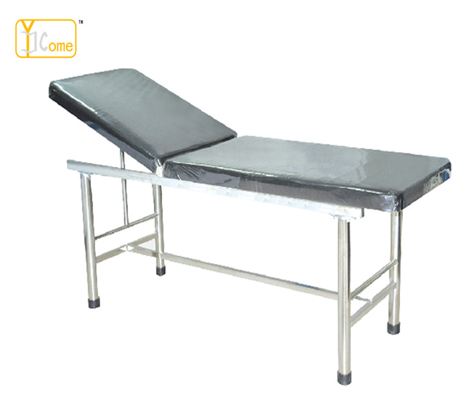 Hand Adjustable Steel <strong>Medical</strong> Examination <strong>Table</strong> For Hospital