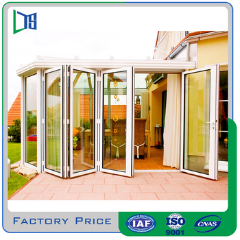 Factory Produce Folding Door Price Kin Long Hardware For Villa Use ...
