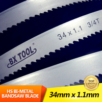 Benxi Tool excellent cutting edge bimetal M42/HSS Bi metal cutting band saw blades