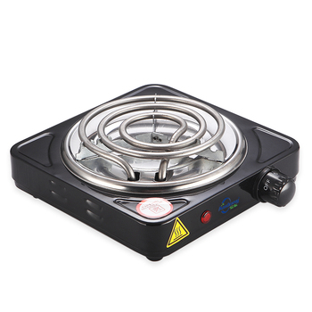 More Cheap single burner 1000W Electrical Hot Plate price cookers