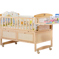 Factory price folding hot selling baby bed picture/baby cot