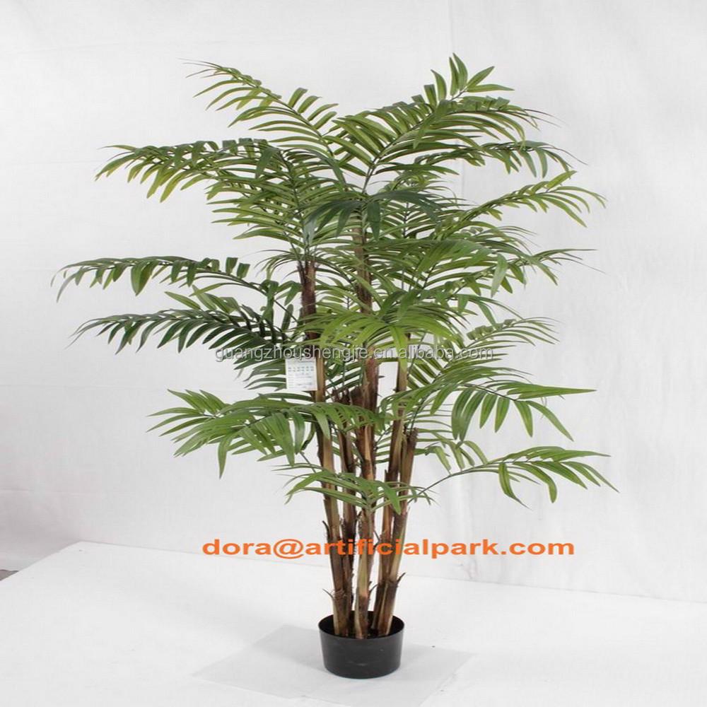 Sjh010646 rbol areca palmeras artificiales mini de for Palmeras artificiales