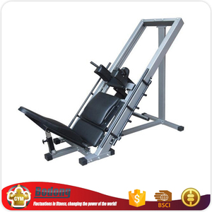 Seated incline squat machine gym equipment fitness 45 degree kicking sissy squat upside down machine