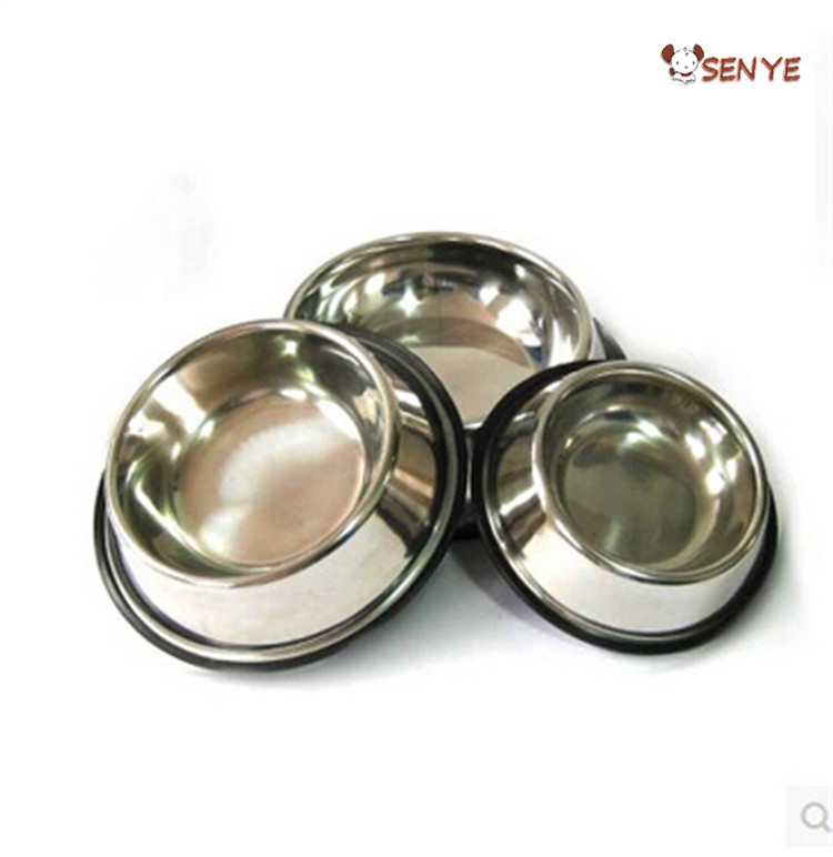 Wholesale Dog Bowl Cheap Mat Steel Dog Bowls Customized LOGO Dog Bowl Stainless Steel Pet