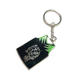 VOGRACE cheap OEM logo custom sublimation metal keychain promotional cartoon anime stamping epoxy hard enamel keychains as gift