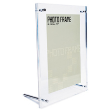 A4 Acrylic picture display stand acrylic photo frame