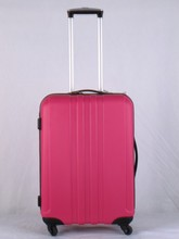 glossy finish ABS+pc trolley luggage shanghai