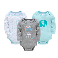 Baby Bodysuit Newborn Baby Clothing Long Sleeve Cotton Winter Baby Clothes