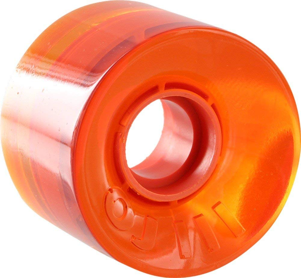 OJ Wheels Hot Juice Trans Orange Skateboard Wheels - 60mm 78a (Set of 4)