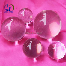 6mm-70mm diamter clear resin ball