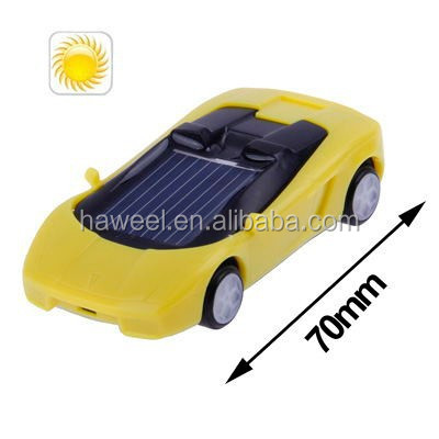 Solar Power Mini Plastic Roadster