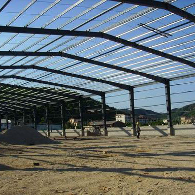Easy demountable steel structure workshop manufacturer