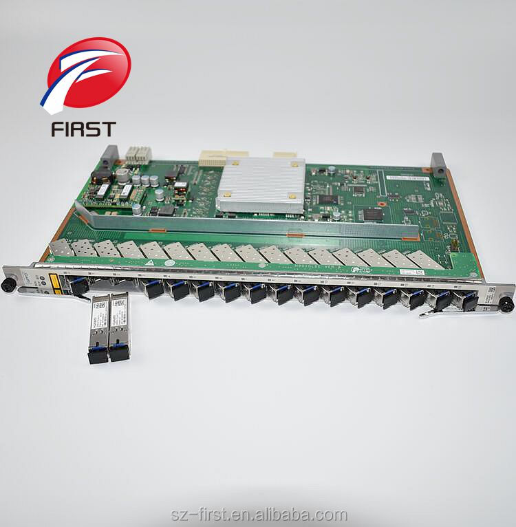 Sfp Modules For Ma5680t Original Hua Wei 16 Ports Gpon Board With 16 Pcs Gpfd Class C Ma5683t Ma5608t Olt
