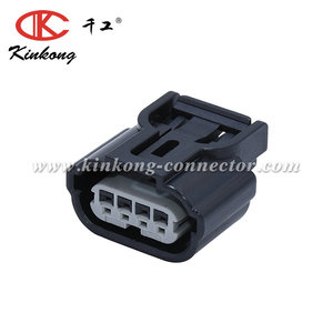 4 way/pin female waterproof motorbike auto connector