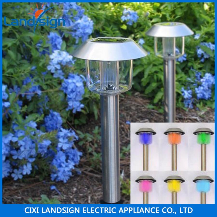 La tecnolog a avanzada de acero inoxidable luces solares - Luces solares jardin ...