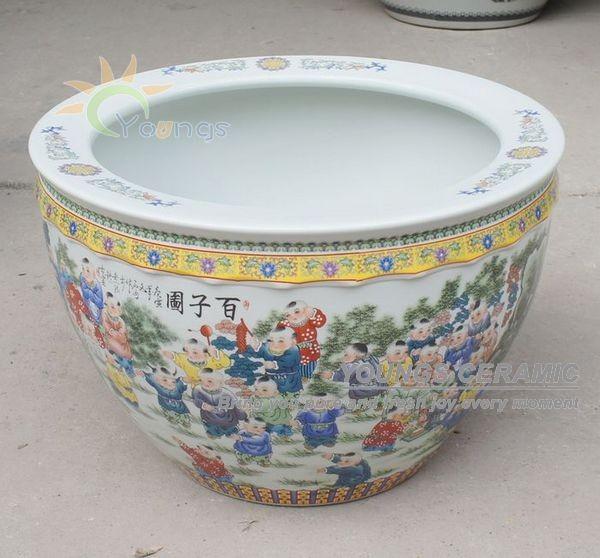 Retail Big Completely Weatherproof Porcelain Ceramic Fish