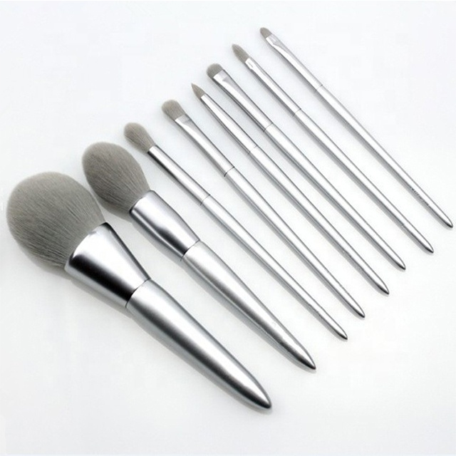 Mit Kundenpaket aus Marmor Make-up Pinselhalter Make-up Pinsel Set benutzerdefinierte Logo Set Pinsel bilden