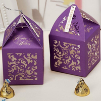 Super Capacity Plus Laser Cut Paper Wedding Favors For Guests
