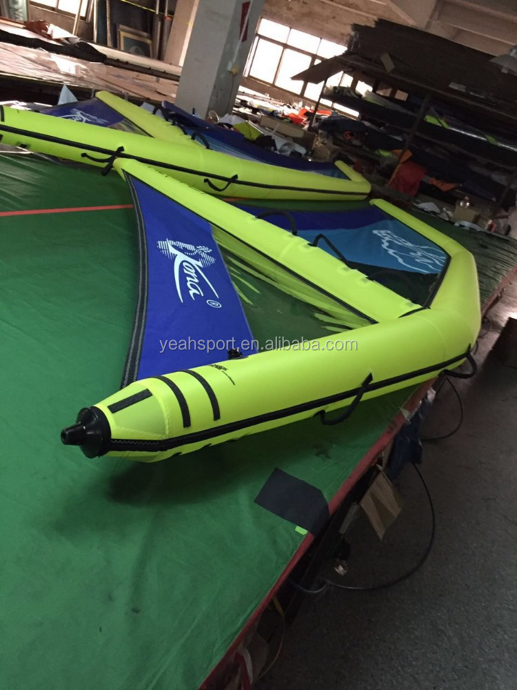 wind surfing sup board inflatable sail