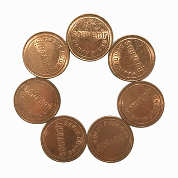 Blank Coins Tokens For Penny Press Machines - Buy Penny Press  Machine,Souvenir Coin Press Machine,Souvenir Coin Machine Product on  Alibaba com