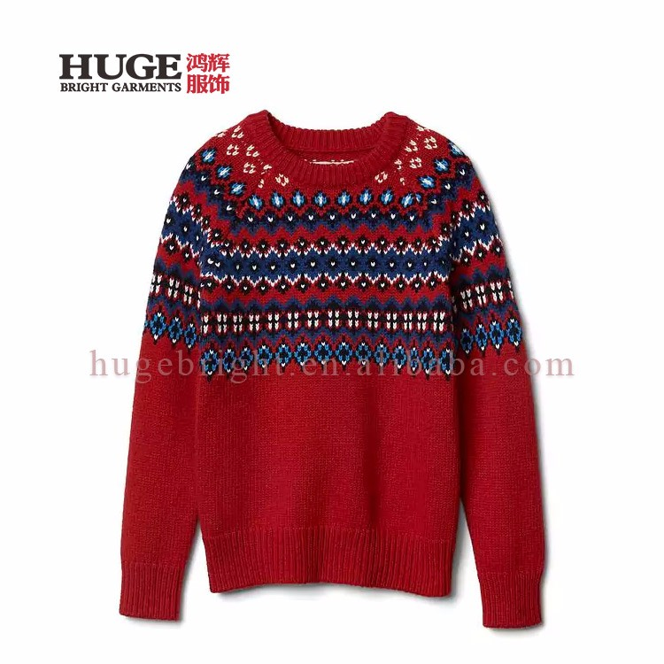 Sweaters Christmas Sweater Red Quality And Quantity Assured