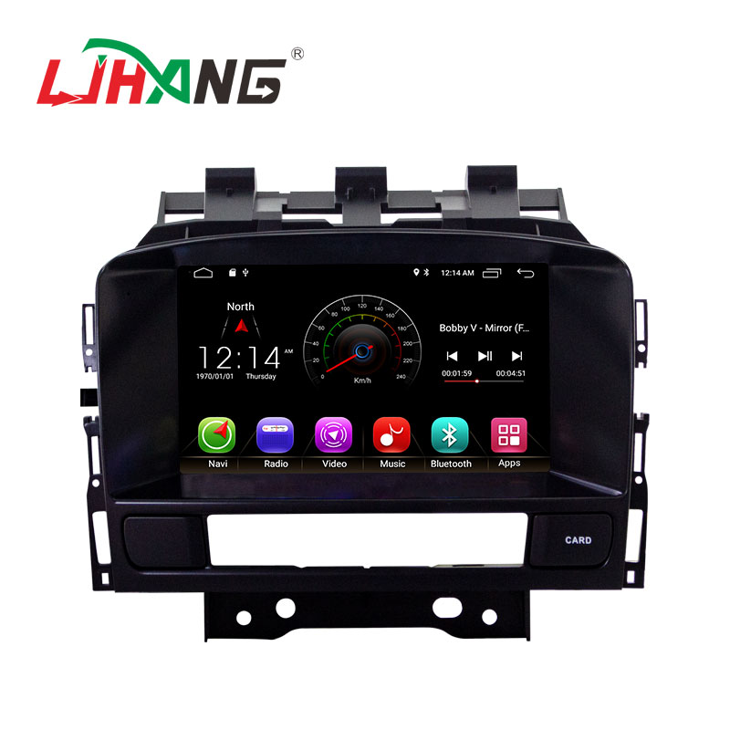 Made in China tocco sreeen android 9.1 2 + 16g car stereo lettore dvd per OPEL ASTRA J 2010-2011with gps di navigazione