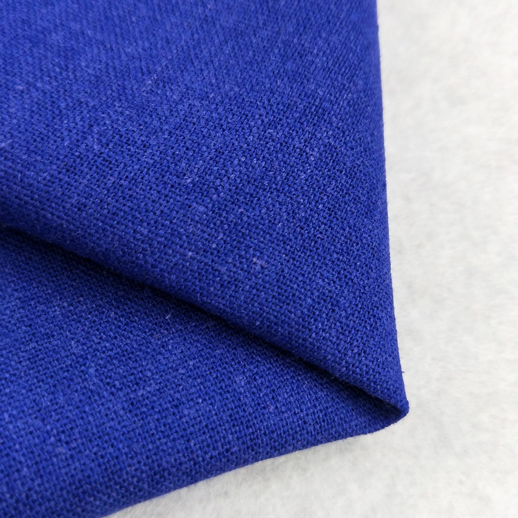 Customized High Quality 55% linen 45% Rayon Blended Fabric