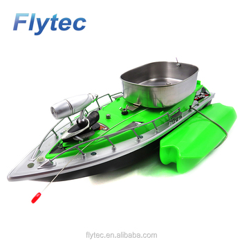 2018 Flytec New Arrival RC Bait Boat Wireless Remote Control Bait Fishing Boat Fast RC Fish Boats Lure 300m 3 Colors For Choice