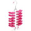 /product-detail/assessed-supplier-lindon-scarf-display-multi-layers-tier-designed-metal-eva-foam-tie-hanger-with-24-racks-1632887155.html