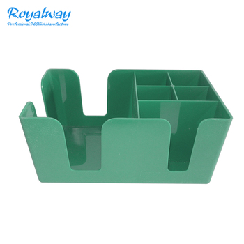 Restaurant Bar Caddy Lagerung Box Organizer 6 Fächer