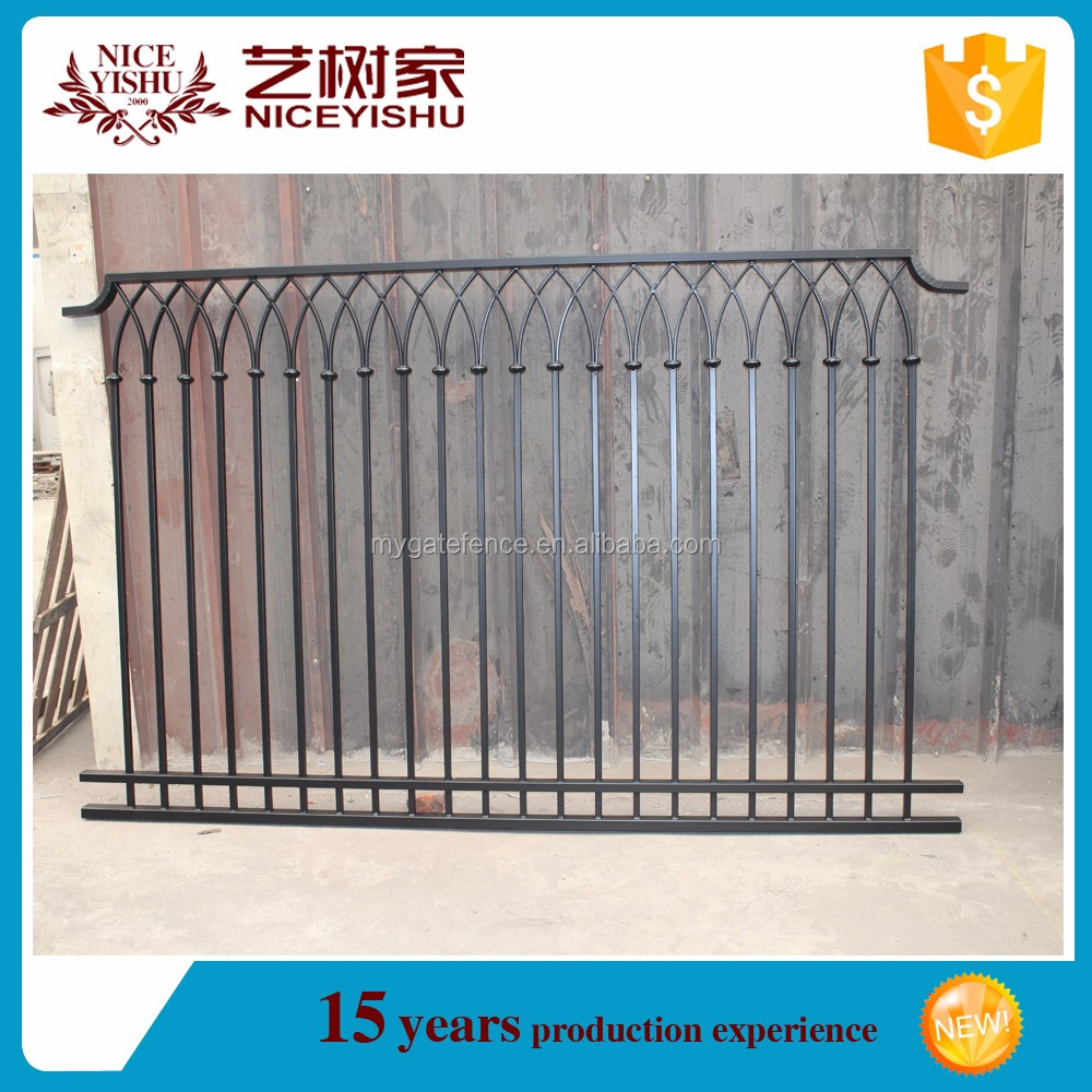decorative wrought iron fencing,wrought iron pattern, fence panels for sale