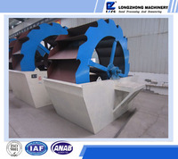LZZG hot sell wheel bucket sand stone washing machine of mineral water plant