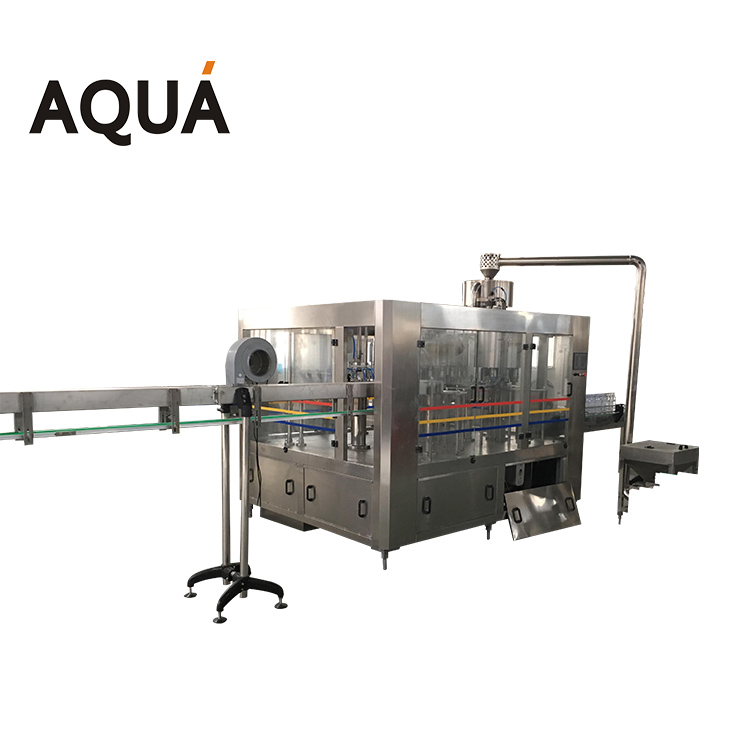 Food beverage machinery apple juice filling and sealing machine price