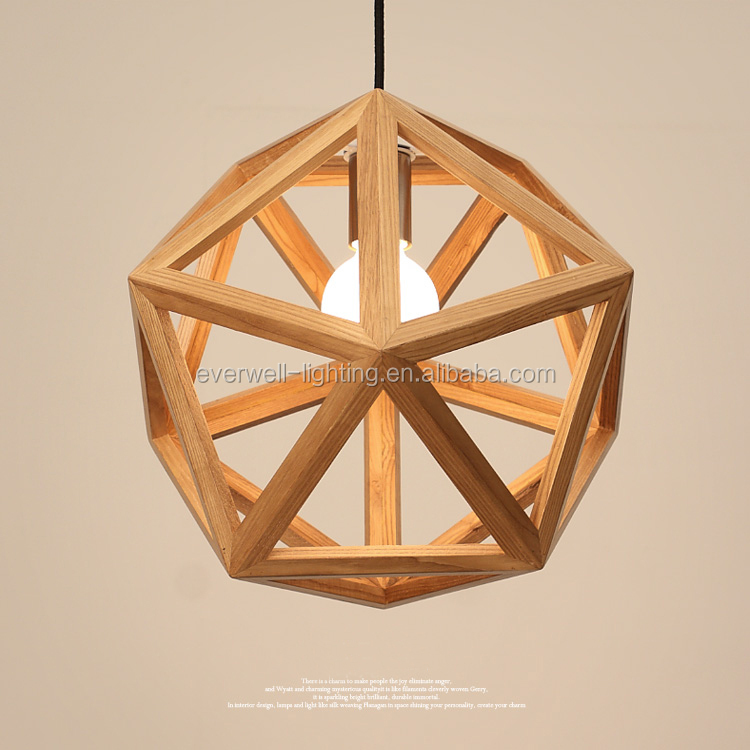 Wood Modern Pendant Light ceiling light