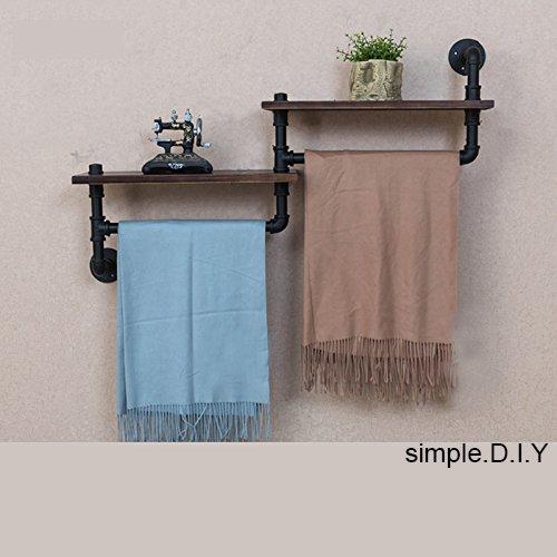 Wgx Towel Racks For Bathroom Rustic Kichen Modern Wood 2