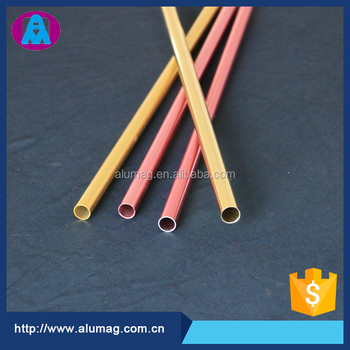 Taiwanese factory supply 6063 small aluminum tube