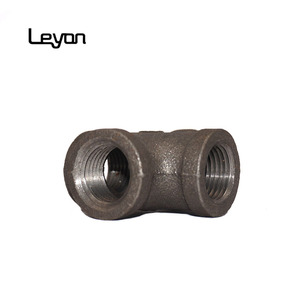 Galvanized Malleable Cast Iron Pipe Fittings Steel Pipe Tee Y pipe fitting tee joints equal tee formula
