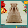 Custom Yiwu Linen Material Gift Bags Jewelry Pouch