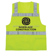 reflective safety vest EN20471