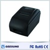Black 76 mm Dot matrix portable printer with autcut for POS machine