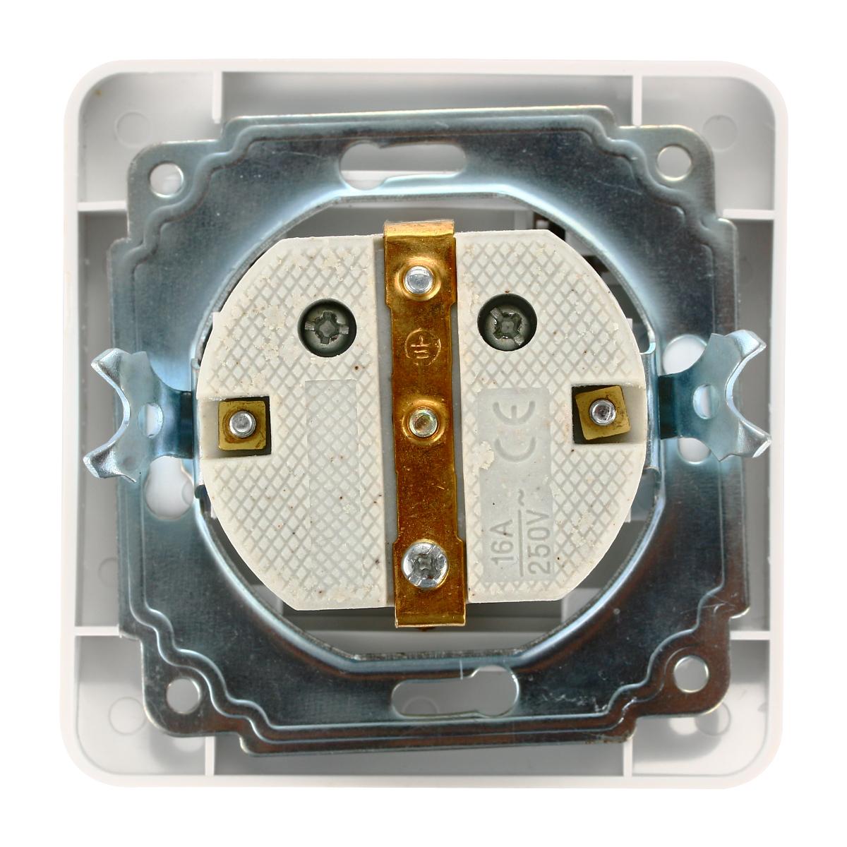 european electronic wiring diagrams 16a 250v korea wiring receptacle power outlet schuko ...