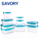 FDA approved microwavable food containers storage with plastic lids