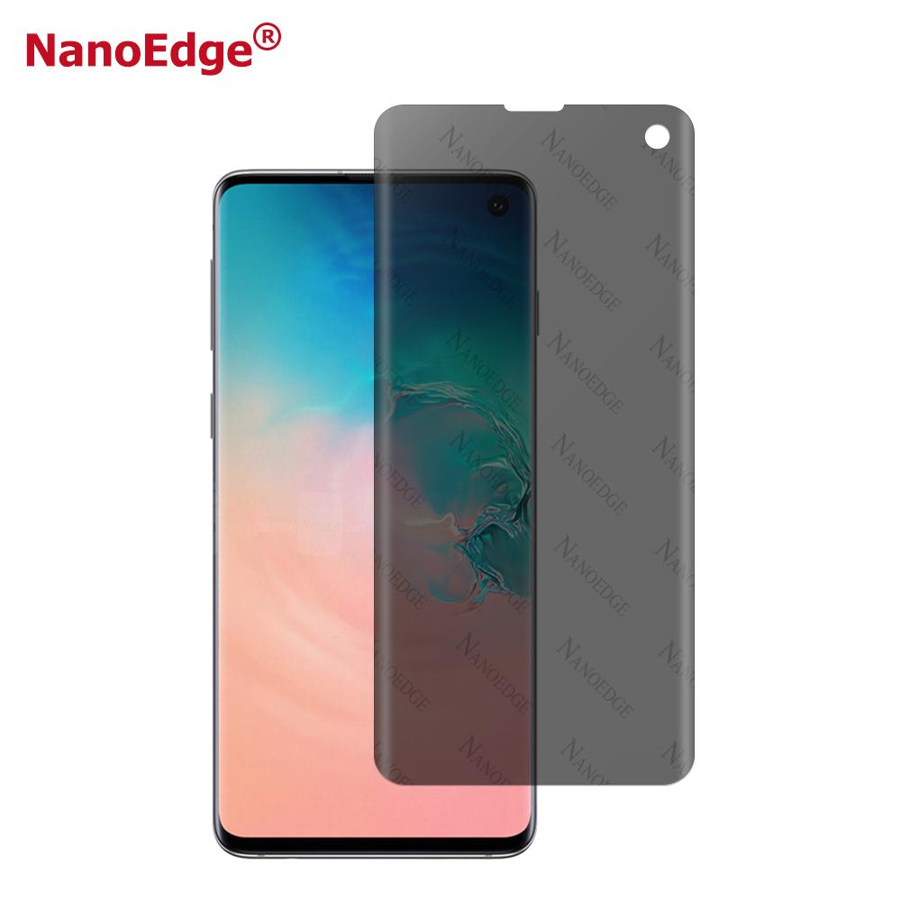 Nano Privacy Full Glue Cover S10 Screen Film For Samsung S10 S10e Screen Protector