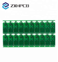 1.6mm board thickness usb pcb OEM 94v0 RoHS usb pcb keyboard circuit board