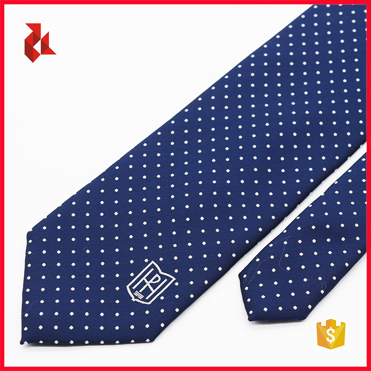 Hot Sale 100% Polyester Jacquard Custom Necktie