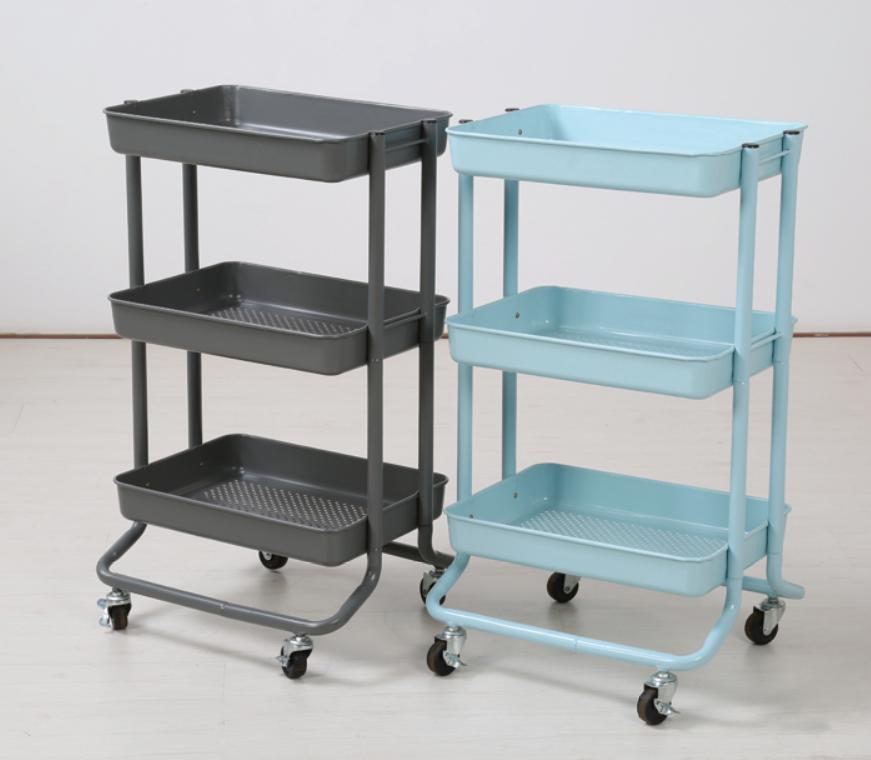 Custom Design 3 Tiers Home Restaurant Kitchen Serving Storage Organizer  Basket Kitchen Cart Trolley With Wheels - Buy Kitchen Cart,Kitchen ...