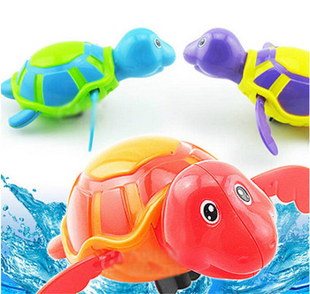 Leuke Schildpad Zwemmen Dier Geliquideerd Keten Uurwerk Baby Kid ...