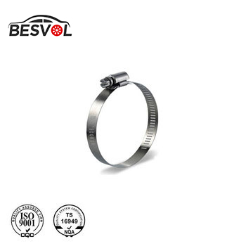 Industrial clip 4 inch stainless steel hose clamp